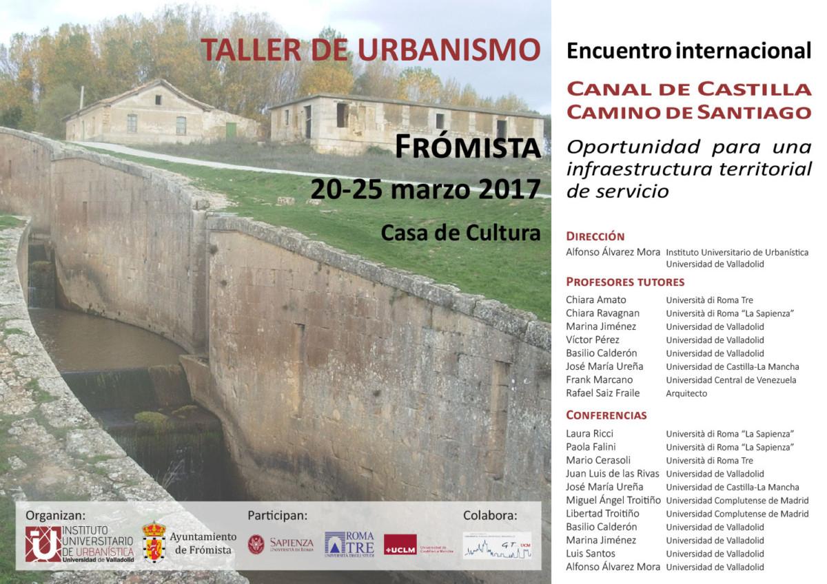 Profesores del GIR Citerior participan en un Taller de Urbanismo